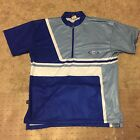 Vintage Cannondale Terra Cycling Jersey Loose Blue Gray Made In USA Medium