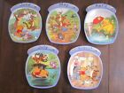 bradford exchange winnie the pooh plates set of 5 April may June July august