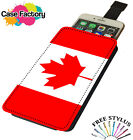 Canada Country Flag - Universal Leather Phone Case Cover