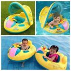 Baby Float Swimming Toddler Kids Inflatable Seat Ring Water Toy Pool Sun Shade