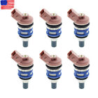 6pcs Fuel Injector For 88-94 Nissan Maxima 3.0L WA46000N13WWW 2507105 1660085E00