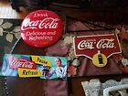 Coca Cola Vintage Retro Style Metal signs and Hanging Sign