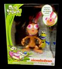 Just Play Nickelodeon Set Of Eye-Bulging Ren and Stimpy Bobble Booty Figures NEW