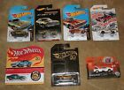 LOT OF 6 HOT WHEELS 50TH ANNIVERSARY 67 CAMARO 2018 GOLD CHASE BLUE W BUTTON