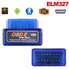 Mini ELM327 Bluetooth OBD2 OBD II Diagnosegerät CAN BUS OBDII Interface ScannEF
