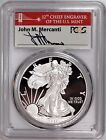 2017 S Proof Silver Eagle Congratulations PCGS PR70 First Day Issue Mercanti