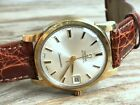 OMEGA AUTOMATIC SEAMASTER STAINLESS STEEL GOLD CAP CAL.563 MINT JUST SERVICED