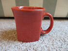 Fiesta Ware Paprika Rust Square Mug 13 oz New