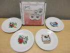Fiesta Ware 12 Days of Christmas Salad Plate - Set of 4 -1st in Series Brand New