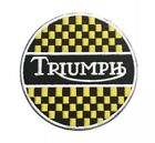 Triumph Embroidered Iron on Patch Sew on Car Logo Clothes Clothing Motorcycle