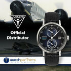 Junkers EXPEDITION SOUTH AMERICA Swiss Regulateur Auto watch Blue dial 6512-3