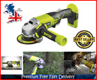 Cordless Angle Grinder 18V Bare Body Only For Metal Cutting Grinding Scraping UK