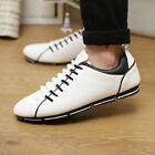 Shop6 Men Fashion Suede Shoes British Lace Up Loafers Sneakers Sport Shoe Casual