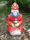 Nativity Wise Man Red Outfit 25 General Foam Light Up Blow Mold Decoration