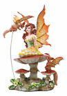 Fluttering Friends Fairy Collectible Statue by Artist Amy Brown Figurine