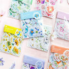 45Pcs Pack Cute Diary Flower Sticker Decoration Flake Stationery School Supplies