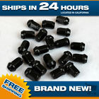 12x125 lug nut Black Acorn Bulge Set of 20 lugnuts fits Scion Subaru Suzuki