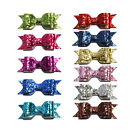 95cm Sequin Applique Sequins Hair bows Knot for Hair Clips Headband Accessories
