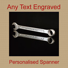 Fathers Day present gift spanner Personalised Unusual Birthday Grandad Dad Uncle