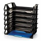 6 Tray A4 Paper Documents Storage Organizer Home Office Holder shelves letter