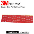 3m Vhb 5952 Double Sided Foam Automotive Car Gopro Adhesive Sheet Mounting Tape