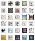 Enjoy the Little Things Throw Pillow Cases Cushion Covers Home Decor 8 Sizes