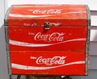 VTG Antique Wood Coke Coca Cola Soda Advertising Trunk Chest JONESBORO ARKANSAS