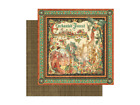 Graphic 45 Enchanted Forest Collection 12 x 12 Card Stock