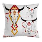 Retro Tattoo Throw Pillow Cases Cushion Covers Ambesonne Home Decor 8 Sizes