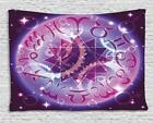 Vintage Astrology Tapestry Wall Hanging Art Bedroom Dorm 2 Sizes Available
