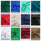 Discount Fabric Techno Scuba Polyester Spandex 4 way Stretch Choose Your Color