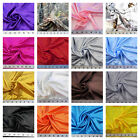 Discount Fabric Charmeuse Silky Bridal Satin Apparel Choose Your Color