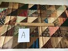 Antique Fabric Block, 16 by 26 inches.  Very Old.  A.