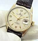 TUDOR PRINCE OYSTERDATE 34 ROTOR SELF WINDING 14K GOLD PLATED STAINLESS STEEL