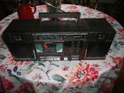 Vintage SONY CFS-5000 AM/FM Stereo Cassette-Corder Boombox .cassette not working