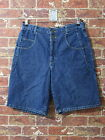 VTG Guess USA sz 34 Jeans Shorts Blue Denim Urban Hip Hop Dungarees