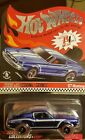 HOT WHEELS Race Team Blue 67 MUSTANG 2008 SELECTION SERIES 1 of 4 4925 7897