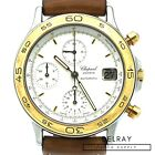 Chopard Vintage Chronograph two tone white dial Watch 8168