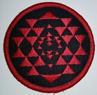 Battlestar Galactica Red and Black Colonial Warrior Uniform Costume Patch