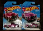 2018 Hot Wheels Super Treasure Hunt 52 Chevy with Normal Car