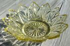 Vintage Federal Glass Co. Petal Pattern Berry Bowl Candy Dish