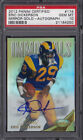 2012 PANINI CERTIFIED ERIC DICKERSON MIRROR GOLD AUTO #174 PSA 10 RAMS HOF 25