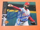 Doug Jones - Autographed 1994 U.D. Baseball Card # 374 - Phillies - pitcher