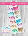 Planner Stickers a0006 Functional Icons12 WW Points Tracker fits any planner