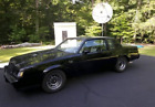 1987 Buick Grand National Black 1987 buick regal grand national