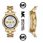 Factory Sealed! New Michael Kors Sofie Access Bradshaw Smartwatch NWT Gold Tone
