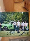 Tyler Hatley And The Little Mountain Band Musicians Music Signed 8x10 Photo