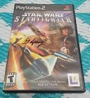 Playstation 2 PS2 Stat Wars Star Fighter Game Disc