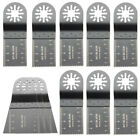 12pcs Mix Saw Blades Kit Oscillating Multitool For Fein Multimaster Bosch Makit