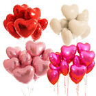 5pcs 18 Love Heart Foil Helium Balloons Wedding Party Birthday Decoration